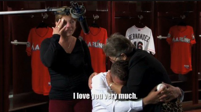 Jose Fernandez's reunion with his grandmother remains one of baseball's best moments https://t.co/AikWIdhpg3 https://t.co/dO6lAI7Ap7
