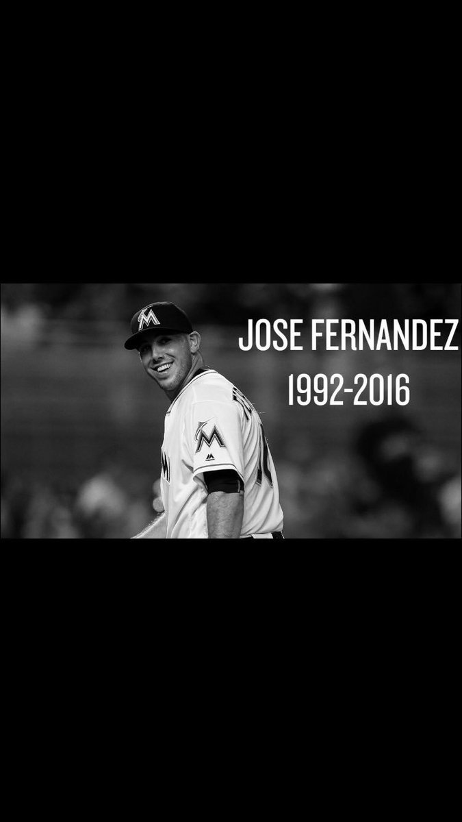 Unbelievably saddened by the news this morning. Gone way too soon. Sending out prayers for Jose's family.
