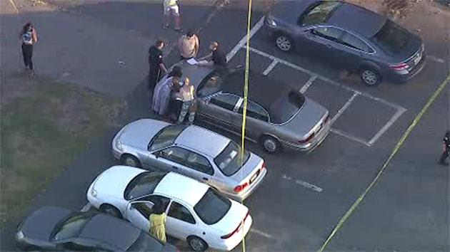 2 arrested in shooting in Rutgers University parking lot