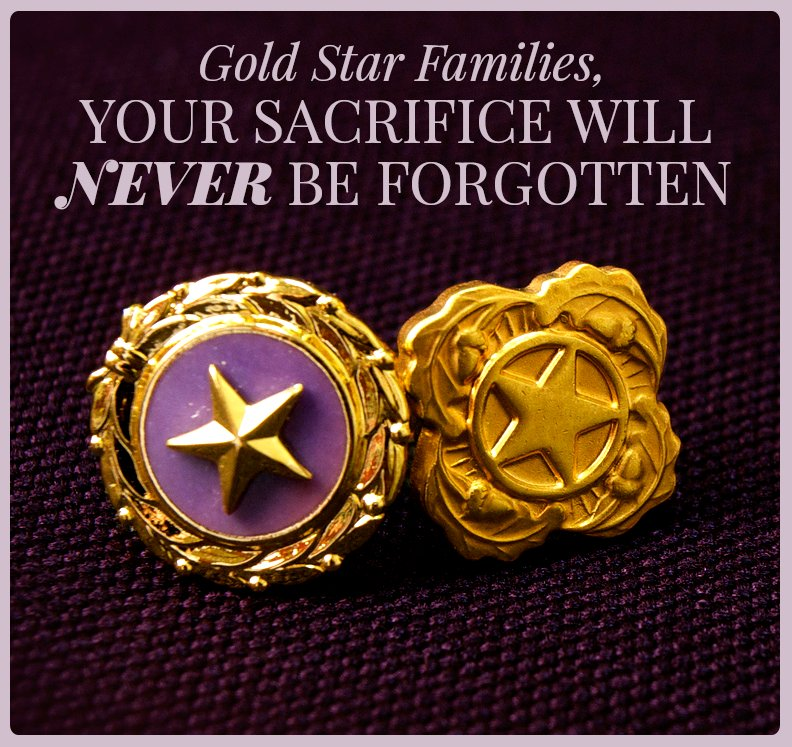 Thanking all those who have lost loved ones. #GoldStarMothersDay