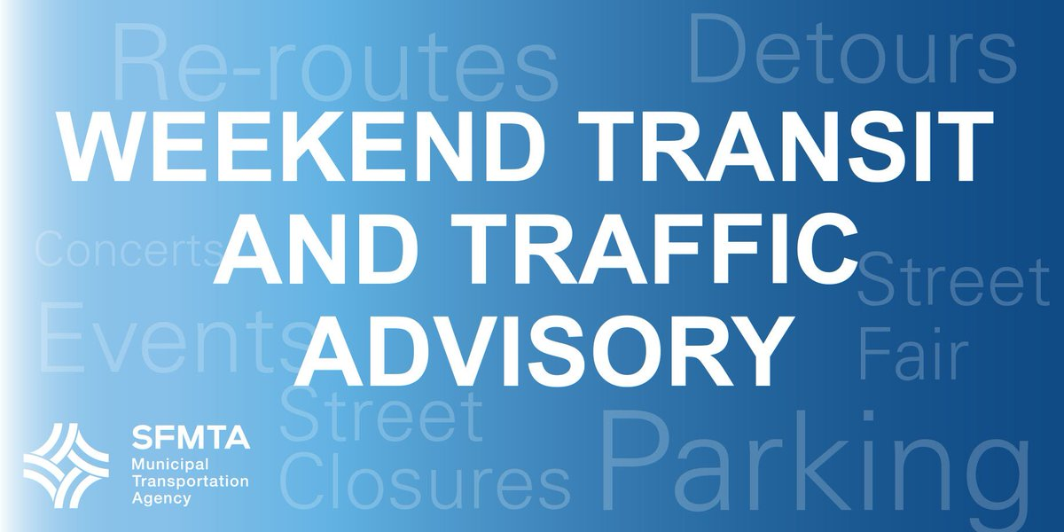 Here is the latest on today's events, affected routes, project updates, & upcoming events