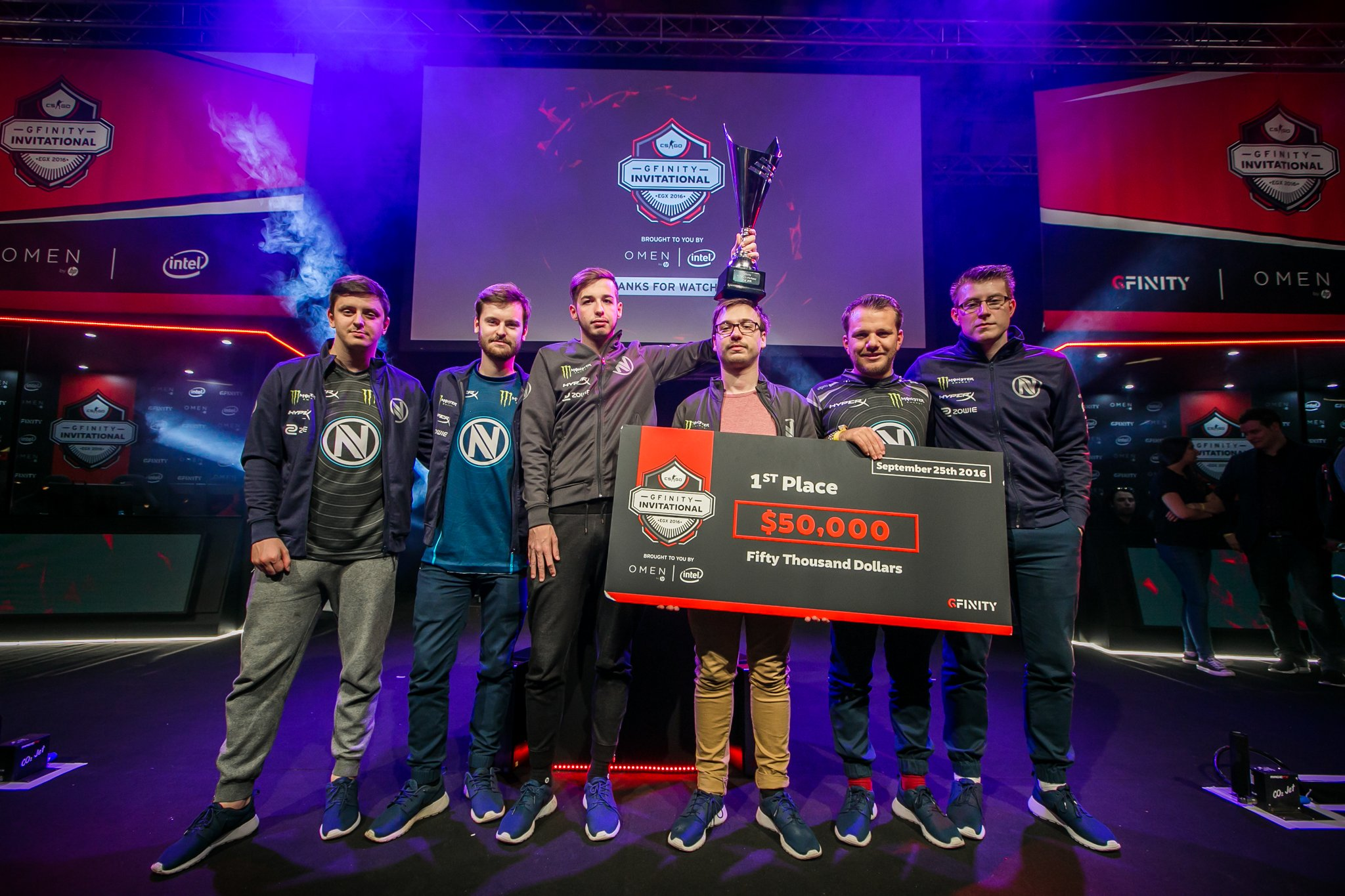 EnVyUs are crowned champions.