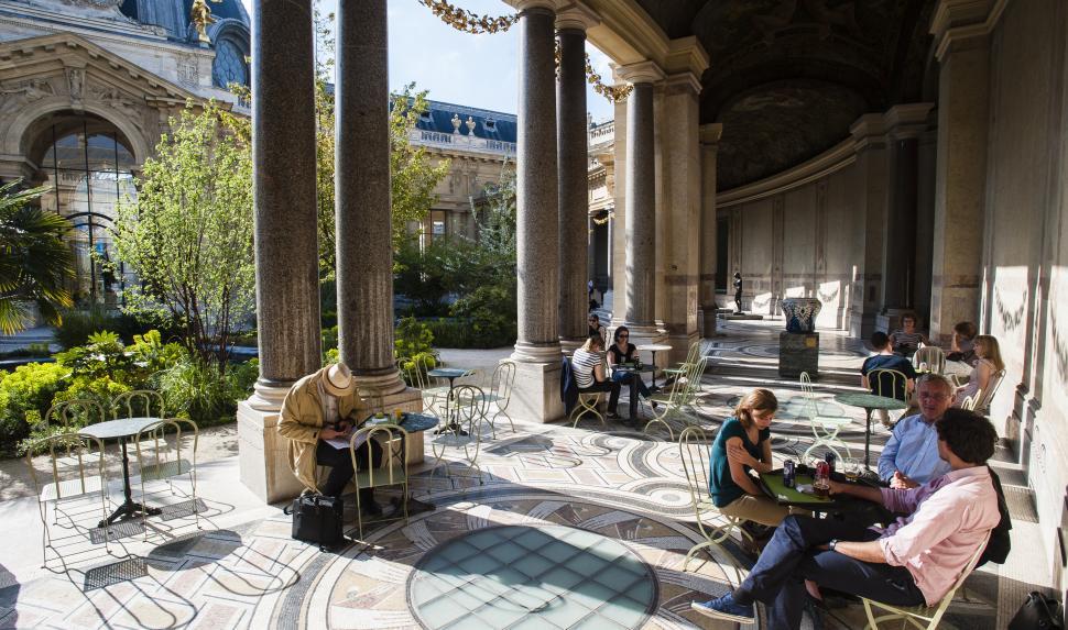 Que faire paris quefaireaparis twitter for Cafe le jardin du petit palais