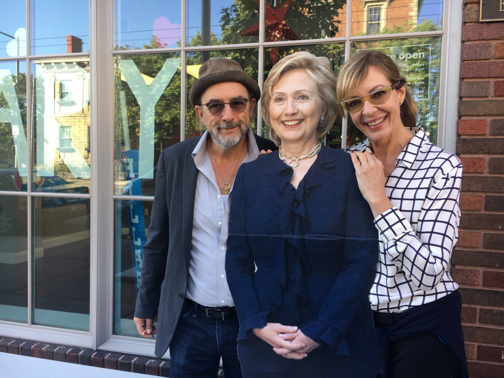 We are 'actually' with Her!! @HillaryClinton @HillaryforOH #OHIll @Richard_Schiff GO OHIO!!! https://t.co/F0siUzSk9r