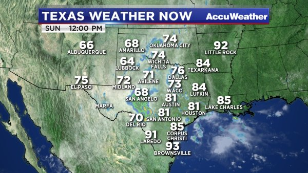 Here's a look at the weather across Texas right now. TXwx