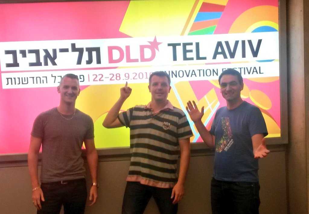 @hostabee team just arrived at the airport  #hackdld #FrenchTech #FoodTech #startup #DLDTelAviv https://t.co/Mgp9Nk51ev