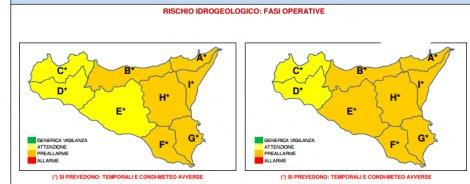 Temporali e raffiche di vento: allerta arancione in Sicilia Orientale - https://t.co/tifulyt5cC #blogsicilianotizie