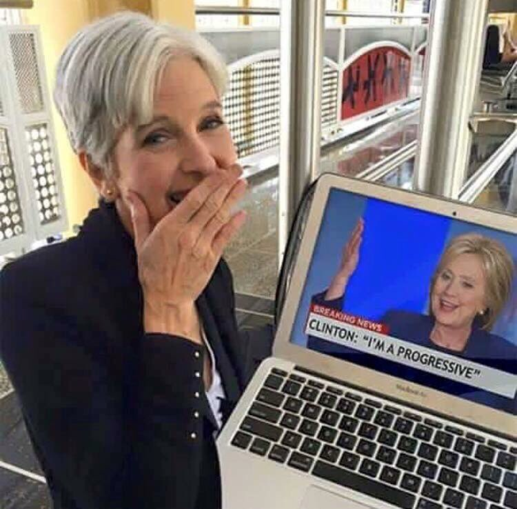 This is why we love this woman @DrJillStein !! Vote for her for president IF you plan to vote..