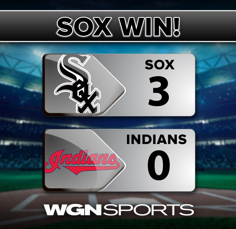Alright, alright, alright! Sox win 3-0.
