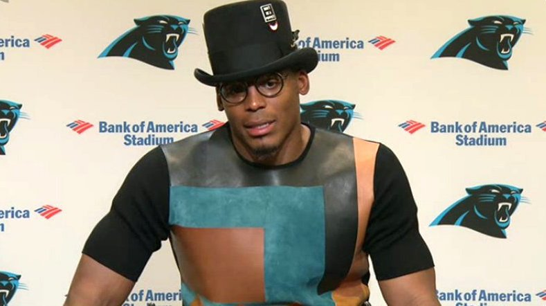Cam newton outfit
