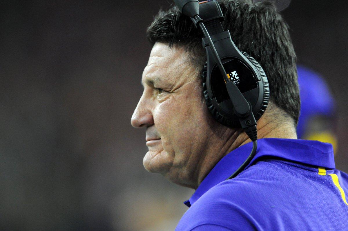 LSU will name defensive line coach Ed Orgeron interim coach.