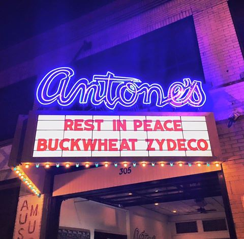 Farewell friend, thank you for the music. Rest In Peace @BuckwheatZydeco https://t.co/HT8i4tAQOS