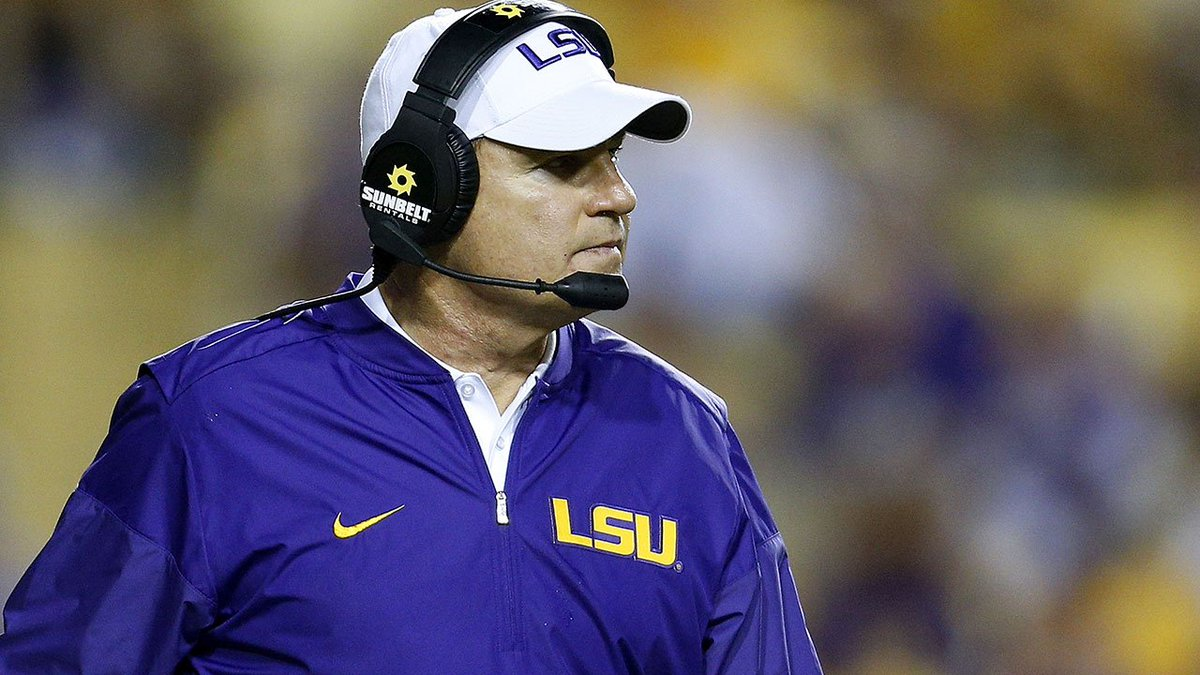@lsu has fired head football coach Les Miles, AP sources say >