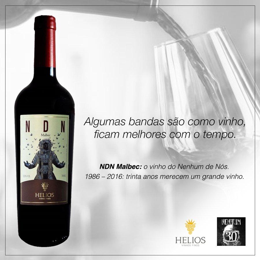 Chegou chegando: NDN Malbec. O vinho do Nenhum de Nós. #ndn30anos https://t.co/TbIVFRT3qw