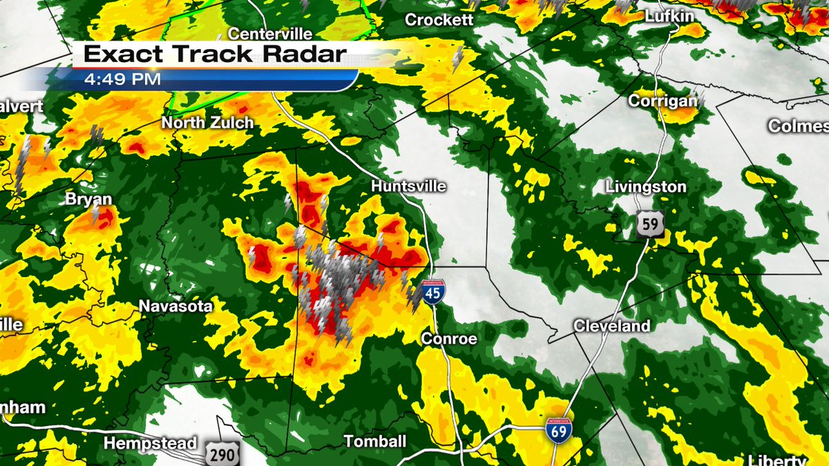 Heads up Huntsville! Thunderstorm cluster is heading in your direction