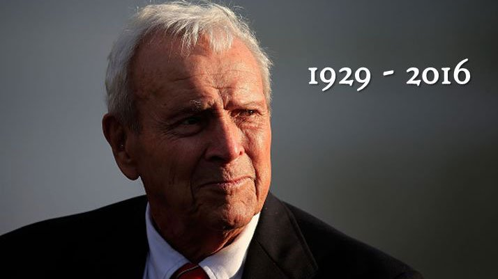 One of golf's greatest, Arnold Palmer died today at the age of 87.