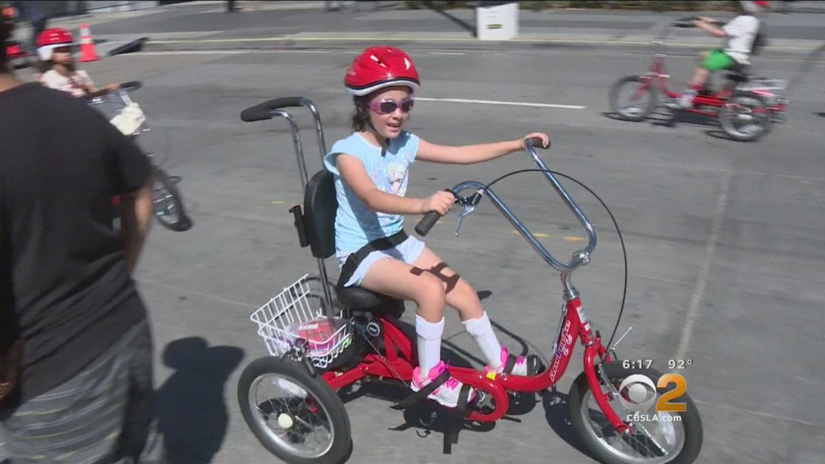 Custom bikes give children with disabilities freedom to ride