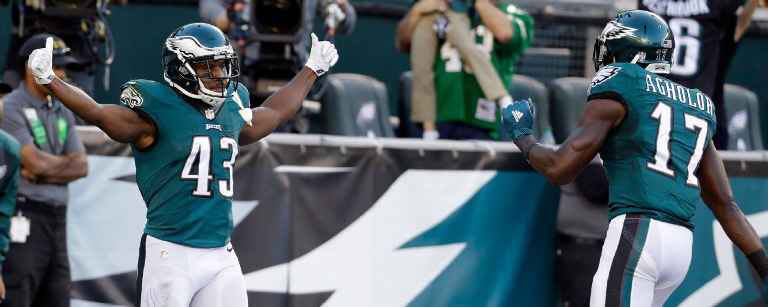 #Eagles outscoring opponents:  92-27. Offense has scored most points in NFL. Defense given up fewest. #FlyEaglesFly https://t.co/WS36JzE7SF