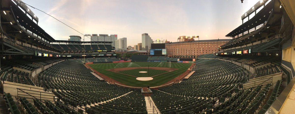 Is this the last we see of Camden Yards this year? Orioles