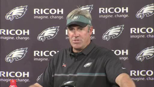 Eagles coach Doug Pederson: