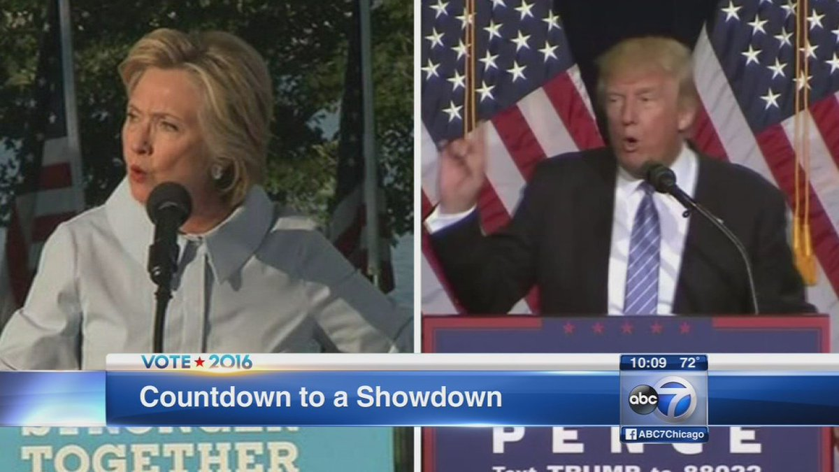 Candidates prepare to face off in first presidential debate