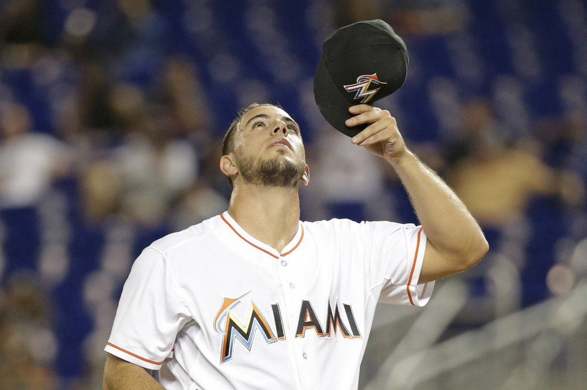 Here's Jose Fernandez's beautiful and telling last pitch