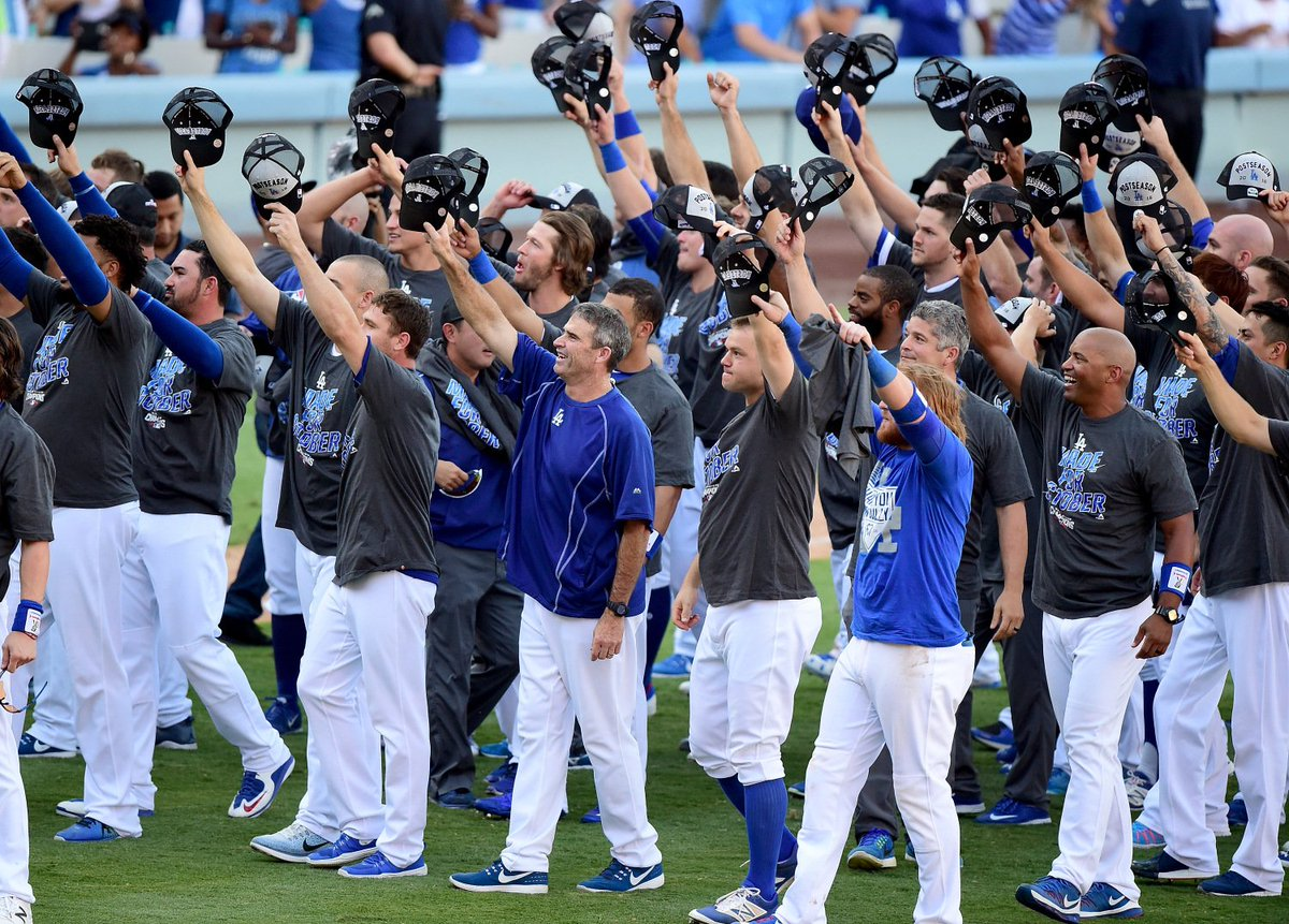 Dodgers Clinch NL West Title With Win Over Rockies In Scully's Final Home Game