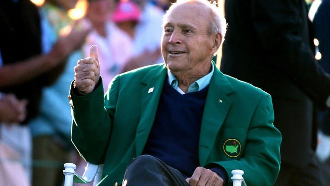 Legendary golfer Arnold Palmer dies at age 87