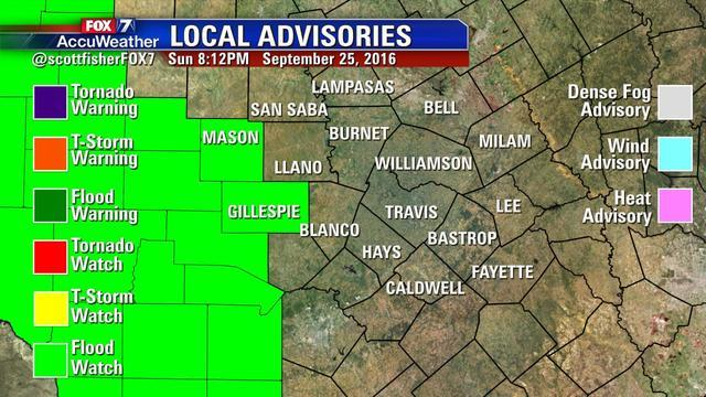 Scott Fisher Says: Local Advisories In Effect NOW.