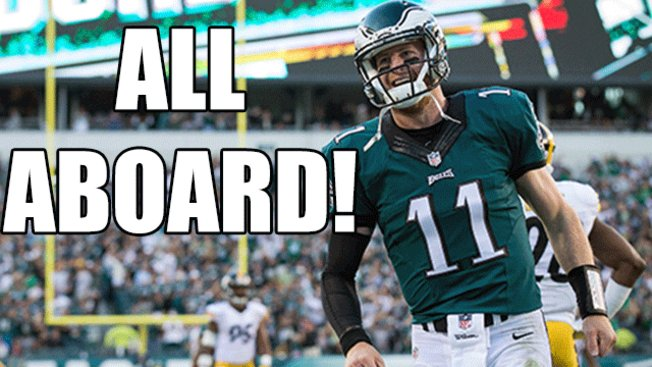 @Eagles in awe of Carson Wentz after another stunning performance: EaglesTalk