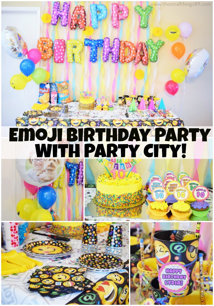 Party City On Twitter We Love This Emoji Happy Birthday Lydia