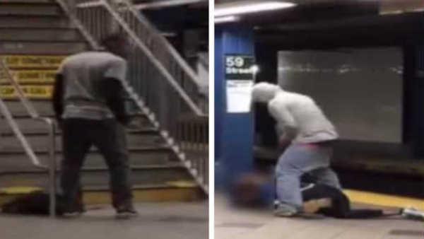 Police: Man punched, kicked, robbed at Columbus Circle subway station