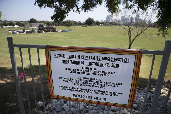Task force: Festivals should spread the love among Austin parks