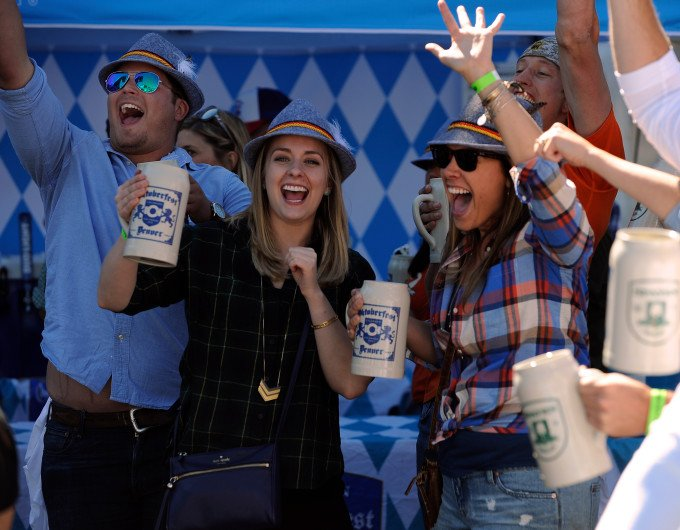 Oktoberfest draws thousands; Denver has been partying like this since 1969 by @finleybruce