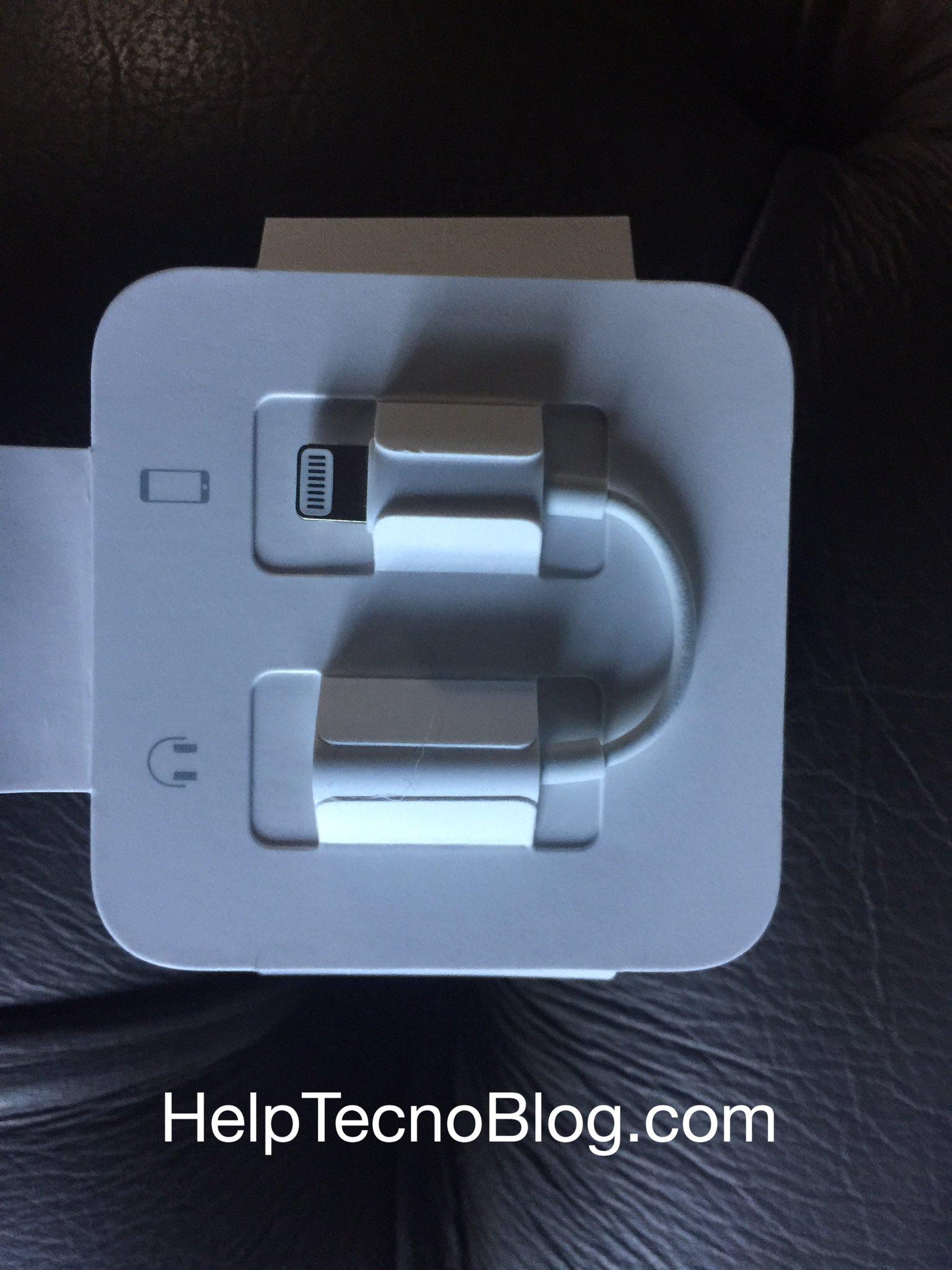 Adattatore lightning jack iPhone 7