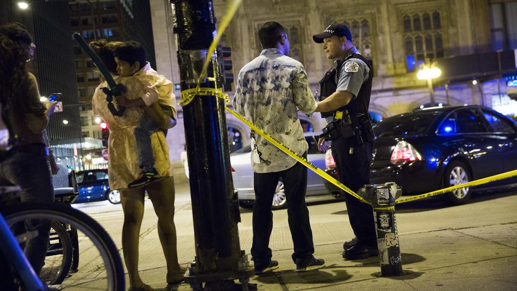 54-year-old man who was shot in the head near Millennium Park on Saturday night has died