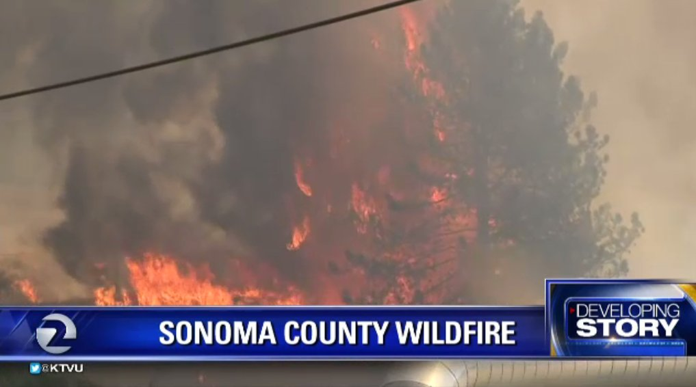 SawmillFire now more than 1500 acres near Cloverdale. 250 firefighters on scene. Evac center set up. SonomaCounty