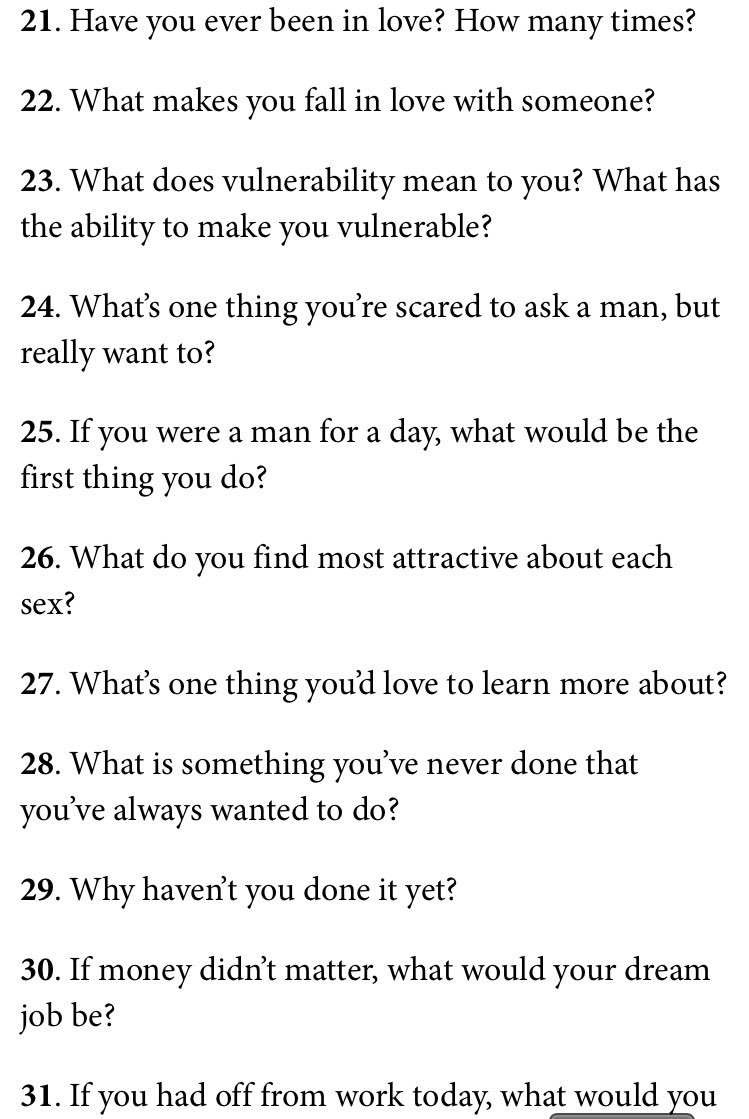 Questions To Ask To Learn About Someone