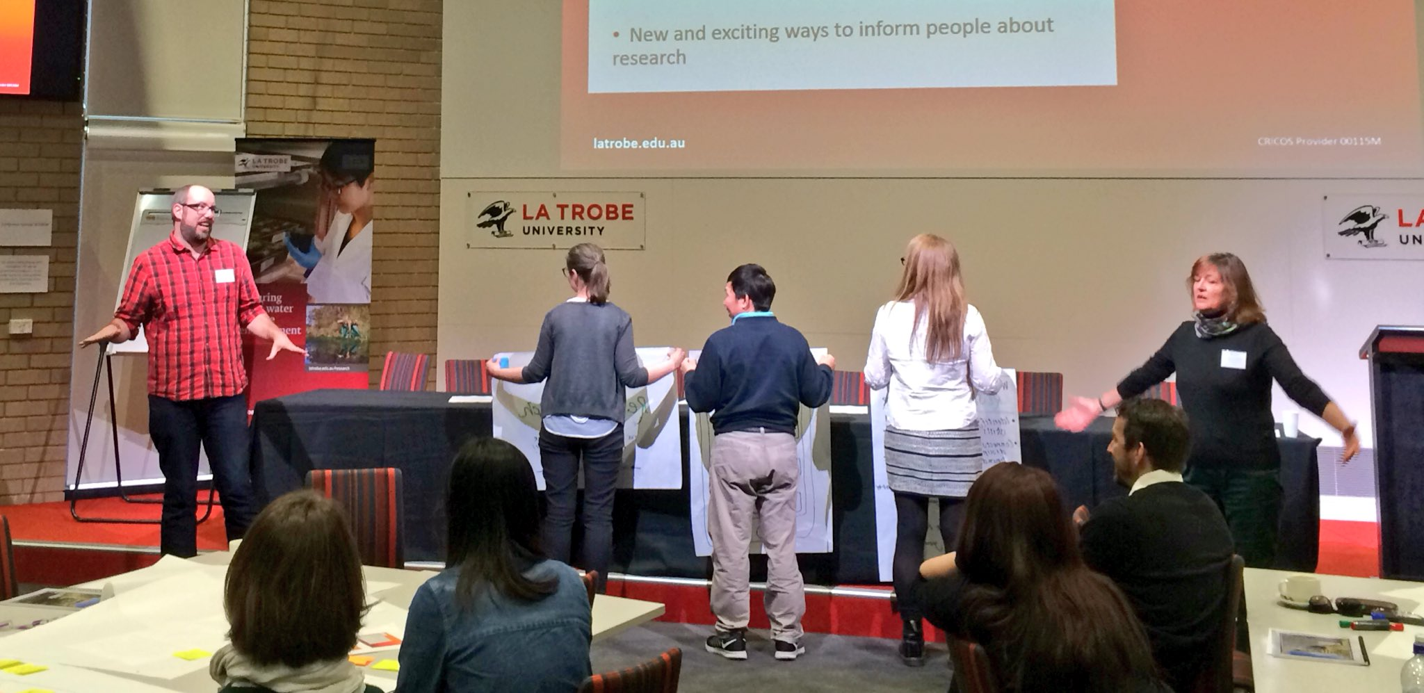 Thumbnail for La Trobe's 2nd Early Career Researcher Networking conference