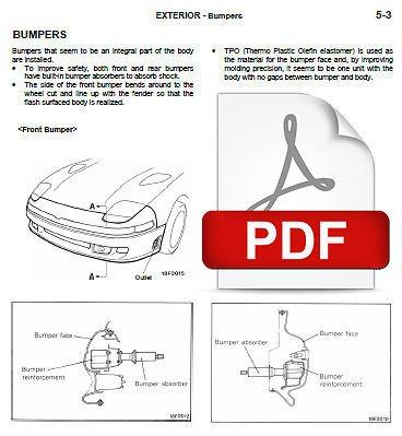 1992 Mitsubishi 3000gt Repair Manual