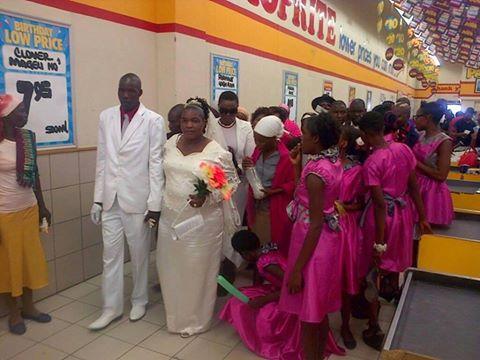 Wedding at Shoprite