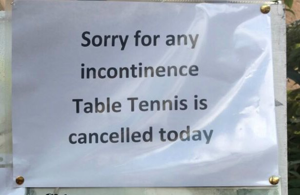 Let us know YOUR signage typos, at your own incontinence... @BBC6Music https://t.co/s1lhVUfULF