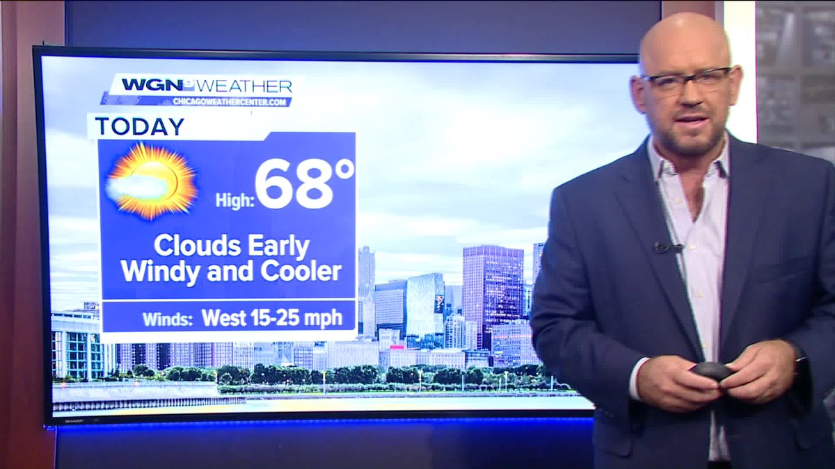 weather Cooler temps, windy conditions - full forecast here