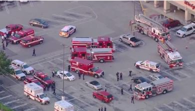 Authorities swarm scene of shooting at Houston-area shopping center