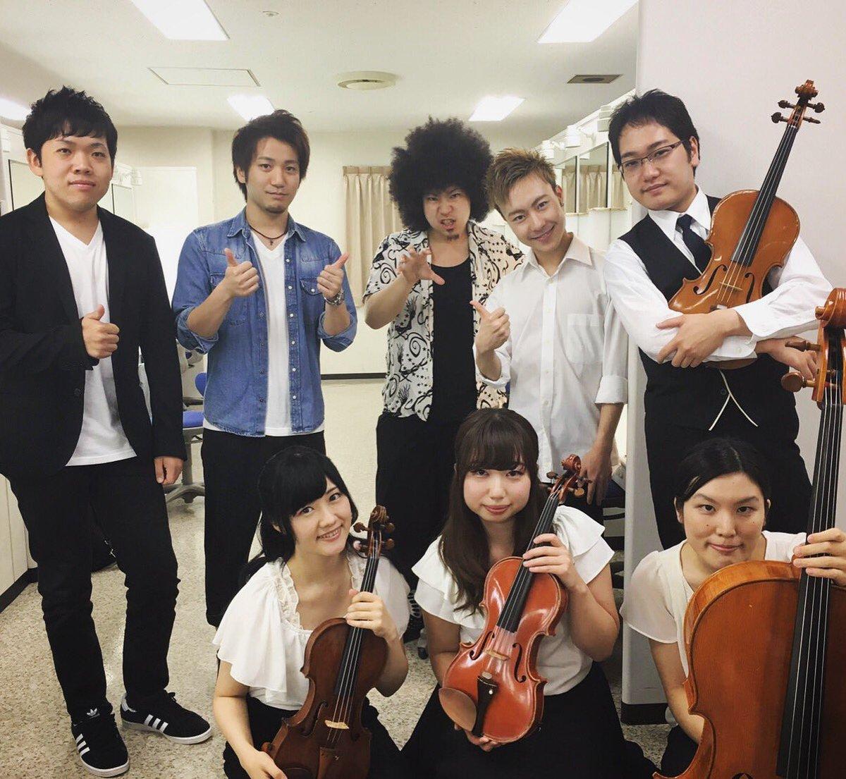 本日の素敵なバンドメンバー(●´ω`●) #NAOMIの部屋 #シブヤノオト #水瀬いのり #vivid_strike https://t.co/h75uu1xJYQ