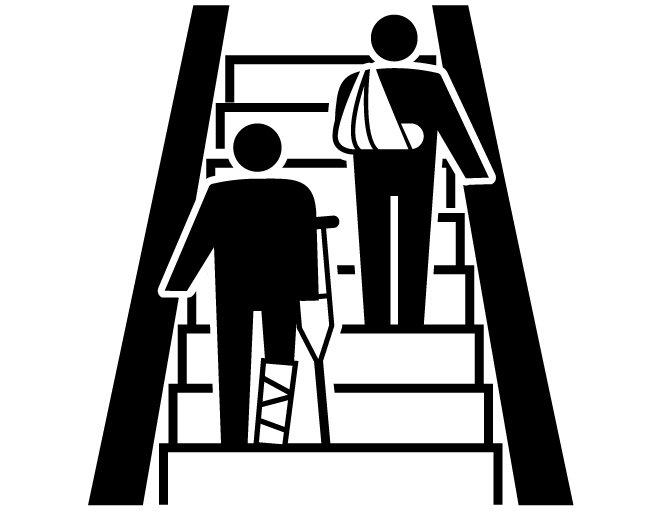 エスカレーターでは「歩く人のために右と左のどちらを空けておくべきか」が関西と関東では違うという話を昔から良く聞きますが、しかしそもそも転倒事故防止のため「エスカレータは歩かない」「手すりを持つ」が昨今の安全ルールとなっておりますし、左右どちらかの手すりしか使えない方もおられます。 pic.twitter.com/TZZiQPRKYn