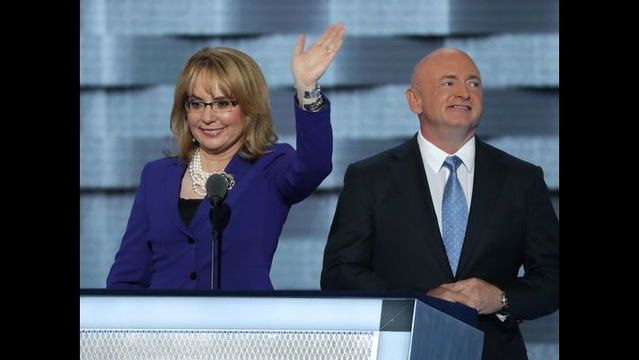 Giffords, Kelly take Clinton gun message to swing states