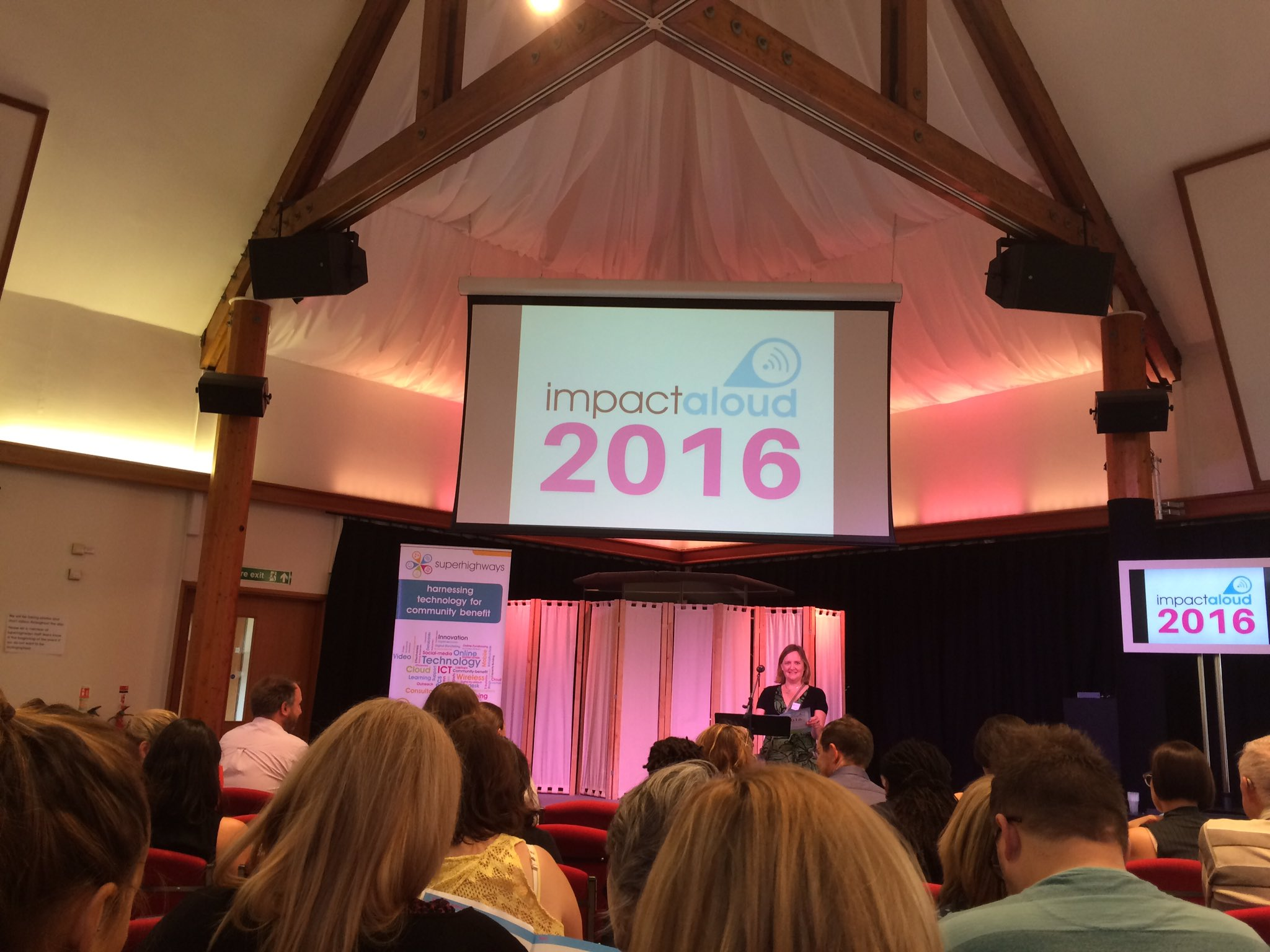 Excited to be welcomed to #impactaloud @SuperhighwaysUK https://t.co/LzEB7P8NTe