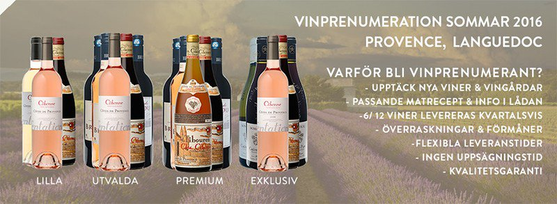 vin prenumeration present