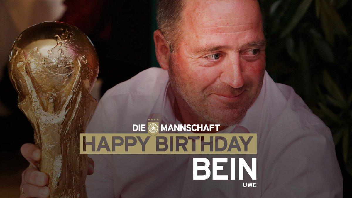 Die Mannschaft On Twitter Auch Uwe Bein Hat Heute Geburtstag Und